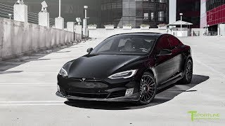 Download Tesla Model S P100D gets Fully Customized Exterior & Interior - Project Malibu Video
