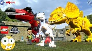 Download LEGO Jurassic World Como Personalizar dinossauros (Mudar DNA) - Dublado PT-BR Video
