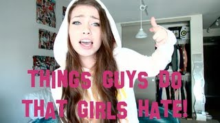 Download Things GUYS do that GIRLS hate! Video