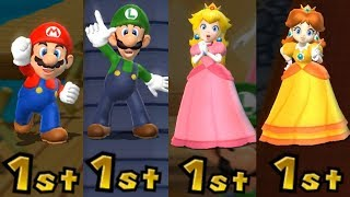Download Mario Party 9 - All Characters Winning Animations Video