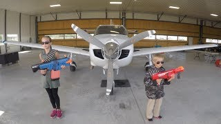 Download Nerf War: Airplane Rescue Video