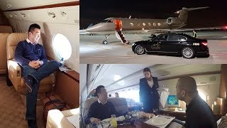 Download Flying the Gulfstream Private Jet from London to Dubai Video