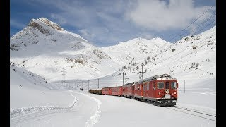 Download Live Train 24/24 Train Driver's View : Cab Ride in the World Line Railway in Winter! Best Great Video