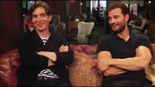 Download Jamie Dornan & Cillian Murphy funniest interviews Video