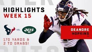 Download DeAndre Hopkins' Huge Game w/ 10 Grabs, 170 Yards & 2 TDs! Video