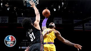 Download LeBron, Lonzo's big nights not enough to top Nets | NBA Highlights Video