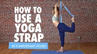 Download 4 Ways to Deepen Your Practice With a Yoga Strap (Tutorial) Video