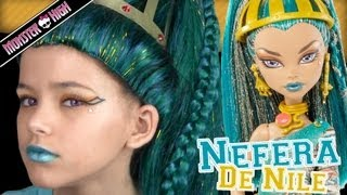Download Monster High Nefera De Nile Doll Costume Makeup Tutorial for Halloween or Cosplay | KITTIESMAMA Video