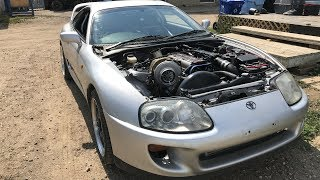 Download Huge Turbo Supra Build First Drive! Video