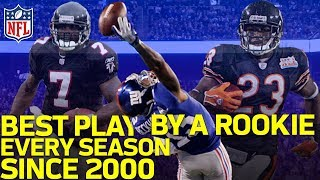 Download The Best Play by a Rookie from Every Season Since 2000 | NFL Highlights Video
