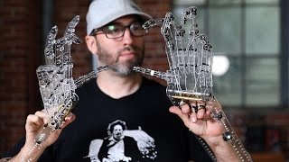 Download Making Laser-Cut Mechanized Hands for Creature Effects! Video