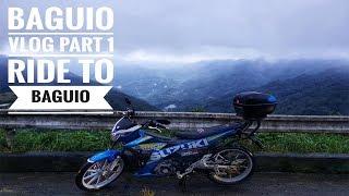 Download Baguio Vlog Part 1: Ride to Baguio | Suzuki Raider R150 Fi Video