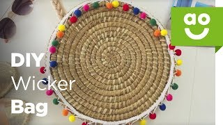 Download DIY Wicker Summer Beach Bag | ao Video