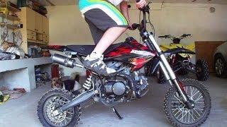 Download Mini Cross 124cc | Pitbike Minibike | Mały motor motocykl crossowy | Motorcycle exhaust engine Video