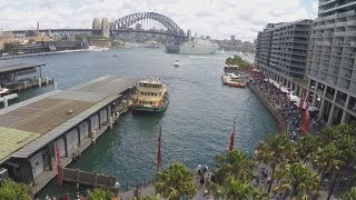 Download Sydney Harbour - Australia Day 2016 - Walk Around Circular Quay (Using Feiyu-Tech G4S Steadicam) Video