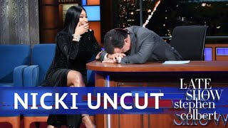 Download UNCUT: The Nicki Minaj Interview With Stephen Colbert Video