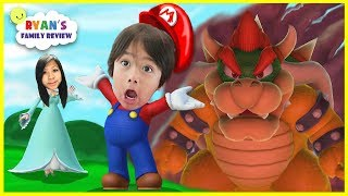 Download Ryan and Mommy Game night! Let's play Mario Party 10 with Ryan's Family Review Video