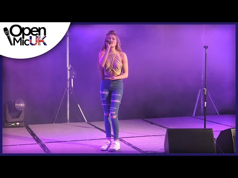DUSK TILL DAWN - ZAYN performed by ELLA BROWN at the Grand Final of Open Mic UK