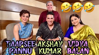 Download Akshay Kumar, Vidya Balan & Taapsee Pannu with Rajeev Masand I Mission Mangal Video