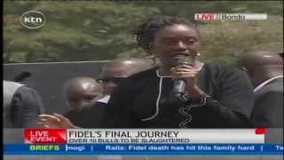Download Rosemary Odinga's tribute to her late brother Fidel Odinga Video