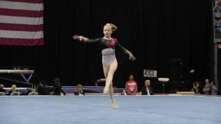 Download Lauren Letzsch- Floor Exercise - 2016 P&G Gymnastics Championships – Jr. Women Day 2 Video