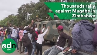 Download Thousands rally against Mugabe in Zimbabwe Video
