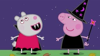 Download Peppa Wutz | Halloween! - Zusammenschnitt | Peppa Pig Deutsch Neue Folgen | Cartoons für Kinder Video