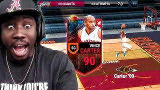 Download NEW VINCE CARTER DUNKING & BALLIN! NBA Live Mobile 16 Gameplay Ep. 21 Video