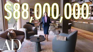 Download Inside an $88M Bel Air Mansion with a Hidden Car Elevator   On the Market   Architectural Digest Video