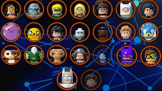 Download LEGO Dimensions - All Characters (Wave 1 - 7.5 - All Spotlights) Video