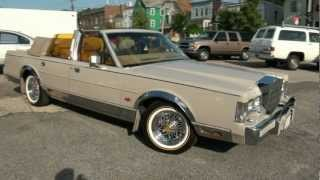 Download 1988 Lincoln Town Car 5.0 Convertible Video