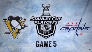 Download 2017 Stanley Cup Playoffs, Round 2: Penguins @ Capitals (Game 5, 5/06/2017) Video