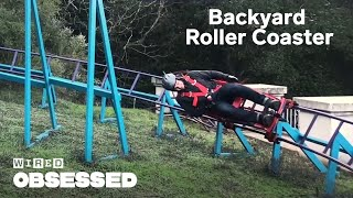 Download How This Guy Built a Roller Coaster In His Backyard | WIRED Video