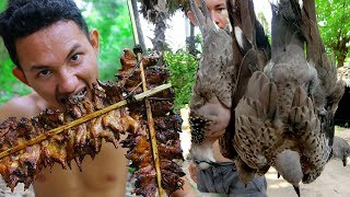 Download Shoot birds Near my village and Cooking Fried Dove by underground extremely delicious Video