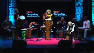 Download Facilitating drum circles: Katherine T. Robinson & Sally G. Robinson at TEDxTampaBay Video