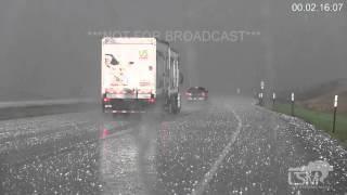 Download 4-24-16 Salina, KS; Mesocyclone, Baseball Size Hail Video