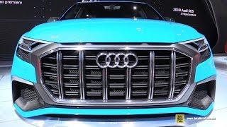 Download Audi Q8 Concept - Exterior and Interior Walkaround - 2017 Detroit Auto Show Video