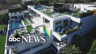 Download A Tour of a $250M Mansion that Comes with Staff, Art Collection Video