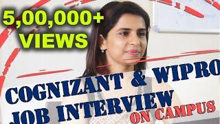 Download Campus Placement Interviews - Cognizant & Wipro - Manish Raj Srivastav - Sathyabama University Video