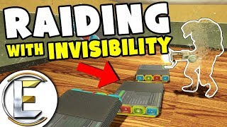 Download Raiding With Invisibility - GMOD DarkRP (It makes Robbing Bases Easy Sneak Into People's Bases) Video