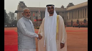 Download Ceremonial Reception of Crown Prince of Abu Dhabi - 25-01-17 Video