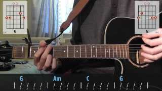Download 4 Non Blondes - What's Up guitar lesson for beginners Video