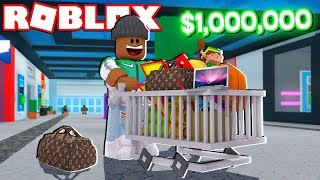 Download $1,000,000 SHOPPING SPREE IN ROBLOX Video