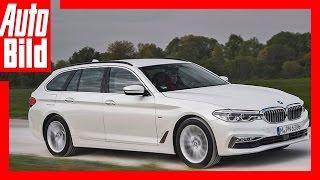Download BMW 520d Touring (2017) - Erste Fahrt im neuen 5er Kombi / Review/Details/Test Video