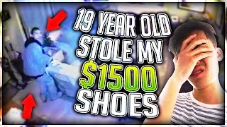Download 19 YEAR OLD STOLE MY $1500 SHOES Video
