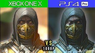 Download XBOX ONE X vs PS4 PRO - Comparativa Gráfica 1080P | Mortal Kombat X Video