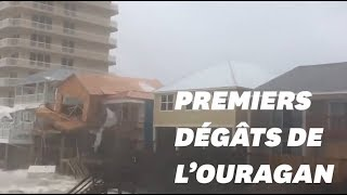 Download En Floride, les premiers dégâts à l'approche de l'ouragan Michael Video