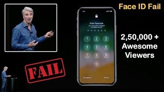 Download Apple iPhone X Face ID Unlock Demo Failed Twice during Launch Event (Full Video) Video