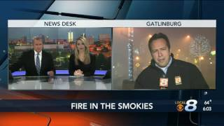 Download Fires force Pigeon Forge, Gatlinburg residents to evacuate Video