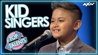 Download KID SINGERS WITH INCREDIBLE VOICES! Auditions That Blew the World Away | Top Talent Video